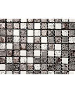 Marshalls Tile and Stone Portoro Mosaic - 300x300mm