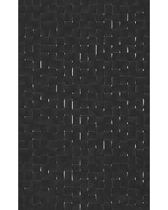 Studio Conran Hartland Black Pressed Mosaic Tile - 248x398mm