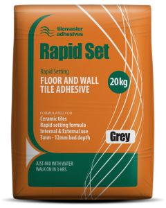 TileMaster Rapid set tile adhesive at Tiledealer