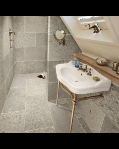 Marshalls Tile and Stone Barancos Blue Honed Tile - 600x300mm