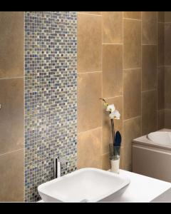 Marshalls tile and stove Heather mosaic