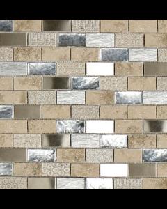 Marshalls tile and stove Jura Coromell mosaic