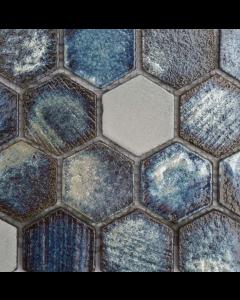 Marshalls Tile and Stone Maldives Lava Hexagon Mosaic -  305x260m