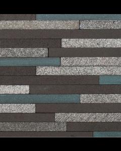 Marshalls Tile And Stone Avalon Lava Stick Mosaic - 253x240mm