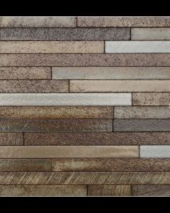 Marshalls Tile And Stone Lava Tanzania Stick Mosaic - 253x240mm