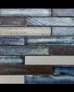 Marshalls Tile And Stone Maldives Lava Stick Mosaic - 253x240mm