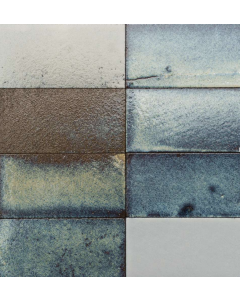 Marshalls Tile and Stone Lava Maldives Brick Wall Tiles- 150x75mm
