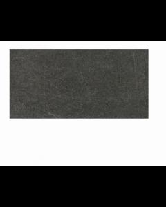RAK Ceramics Shine Stone Black Matt Porcelain Wall and Floor Tiles 10x60