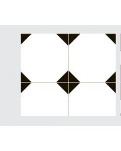 Continental Tiles Dual Gres Heritage Collection Cambridge Feature Wall and Floor Tiles 45x45