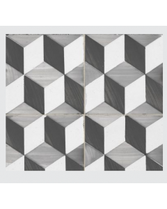 Continental Tiles Dual Gres Heritage CollectionSandy Grey Feature Wall and Floor Tiles 45x45