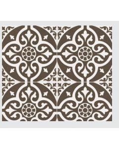 Continental Tiles Dual Gres Heritage Collection Chester Black Feature Wall and Floor Tiles 45x45