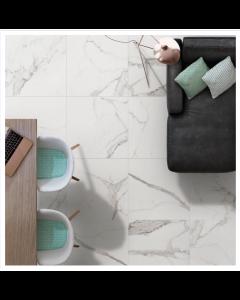 Halcon Ceramica Palatina Tiles White Gloss Porcelain Wall and Floor Tiles