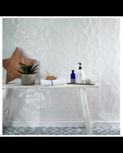 Concept 60x30 Tiles White Gloss Décor Tiles