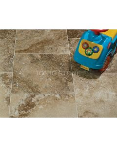 Ionic Stone Siva Noce Travertine Honed & Filled