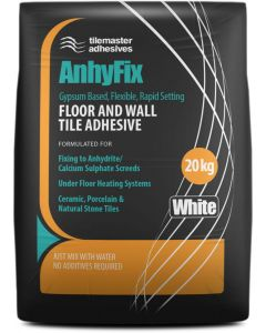Tilemaster Adhesives Anhyfix White 20kg