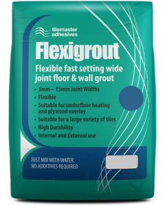 Tilemaster Adhesives Flexigrout Grey 10kg