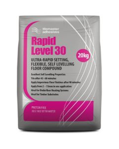 Tilemaster Adhesives Rapid Level 30 20kg