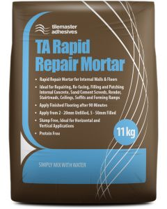 Tilemaster Adhesives Rapid Repair Mortar 11kg