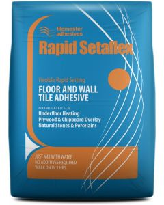 Tilemaster Adhesives Rapid Setaflex White C2 FT S1 20kg