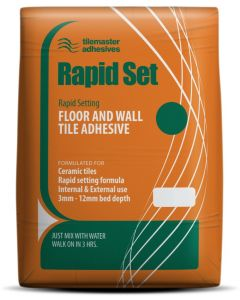 Tilemaster Adhesives Rapid Set White C1 FT 20kg