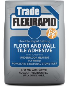 Tilemaster Adhesives Trade Flexi Rapid White C2 FT 20kg