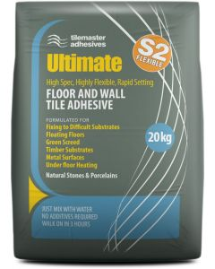 Tile Master Ultimate flexible floor tile adhesive