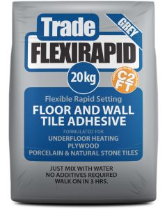 Tile Master Trade Flex flexible floor tile adhesive