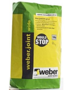 Weber Joint Tile Grout Wide Flex Grey 10kg