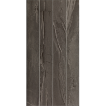 Continental Tiles Ethereal Antracite Scored Wall Tiles - 600x300mm
