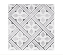 Impex Mr Jones DMJ Durham Grey Porcelain Patterned Wall and Floor Tiles 33x33