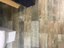 Impex Vintage Wood Effect Floor Tile - 150x600mm