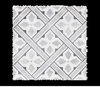Impex Mr Jones DMJ Durham Grey Porcelain Patterned Wall and Floor Tiles 33x33