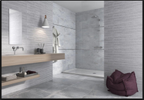 CTD Gemini Tiles Keraben Nature Concept Grey Wall Tiles 690x240 at Tiledealer