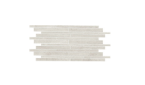 Continental Tiles Novabell Crossover Mosaic White Porcelain wall and floor Tiles 60x30 at Tiledealer