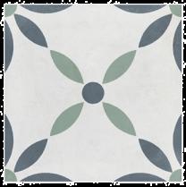 Peronda Tiles Havana White Flower Matt Tiles 223x223