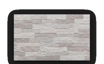 Premier Porcelain Tiles Contemporary Tribeca Silver Decor Wall and Floor Tiles 60x30