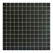 Gemini Vitra Step Black Mosaic Tile - 300x300mm