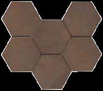 Continental Tiles Rewind Tabacco Rettificato Tiles - 210x180mm