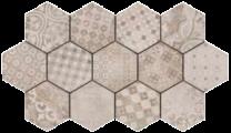 Continental Tiles Rewind Decoro Cementine Mix Tiles - 210x180mm
