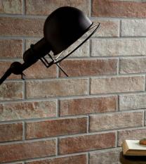 Brick by Brick Red Glazed Porcelain W&F 310x74mm