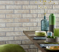 Brick by Brick Sand Glazed Porcelain W&F 310x74mm