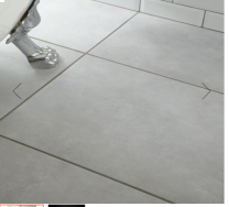 Cemento Light Grey Glazed Porcelain W&F 580x400mm