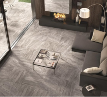 Valstein Dark Grey Grip Porcelain 598x598mm