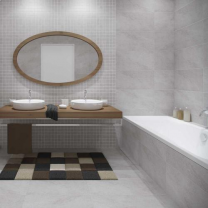 Rovese Tiles Karoo Grey Porcelain Wall and Floor Tiles 600x300mm