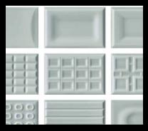 Cento per cento G gloss grey wall tiles