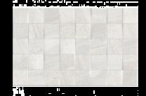 diy tiles  Fiji Decor Ceramic 25x40 Wall Tile White