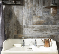 Waltham Distressed Wood Effect Grey Glazed Porcelain W&F 150x600mm
