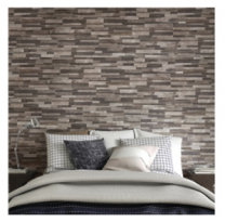 Gemini tiles Inwood 3D Black Tile - 610x150mm