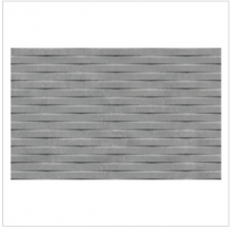 Gemini Cement Tech Mini Grey Décor Tile - 400x250mm