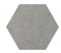 Traffic Grey Hexagonal 25cm Tiles